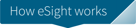 how esight works button c
