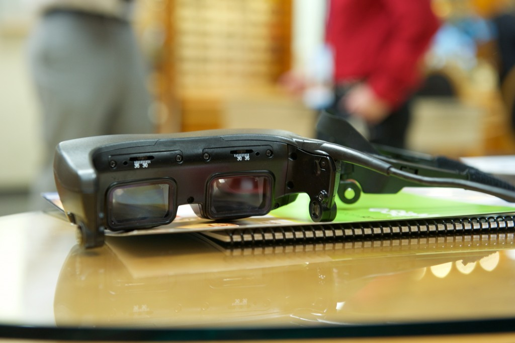 esight low vision glasses
