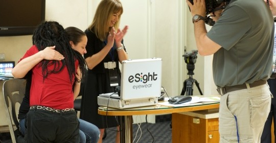 Maryland eSight Debut | Patient Device Demonstration Event