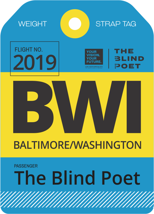 The Blind Poet USA Book Tour