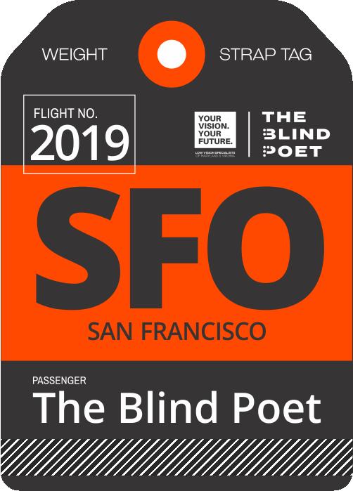 The Blind Poet USA Book Tour San Francisco