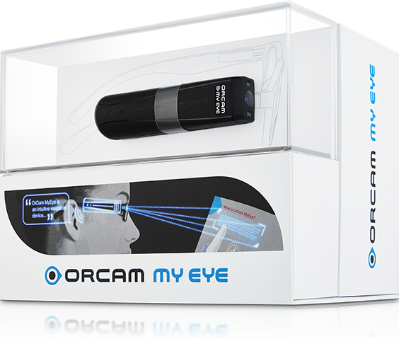 OrCam MyEye 2 Box Packaging