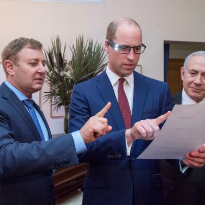 Prince William demonstrating OrCam