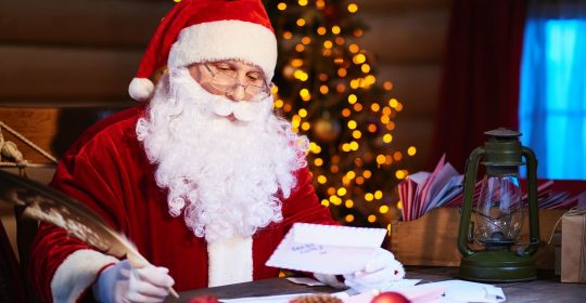 Free Low Vision & Braille Letters from Santa Courtesy of Braille Works & The NFB